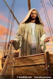 jesus divine fisherman