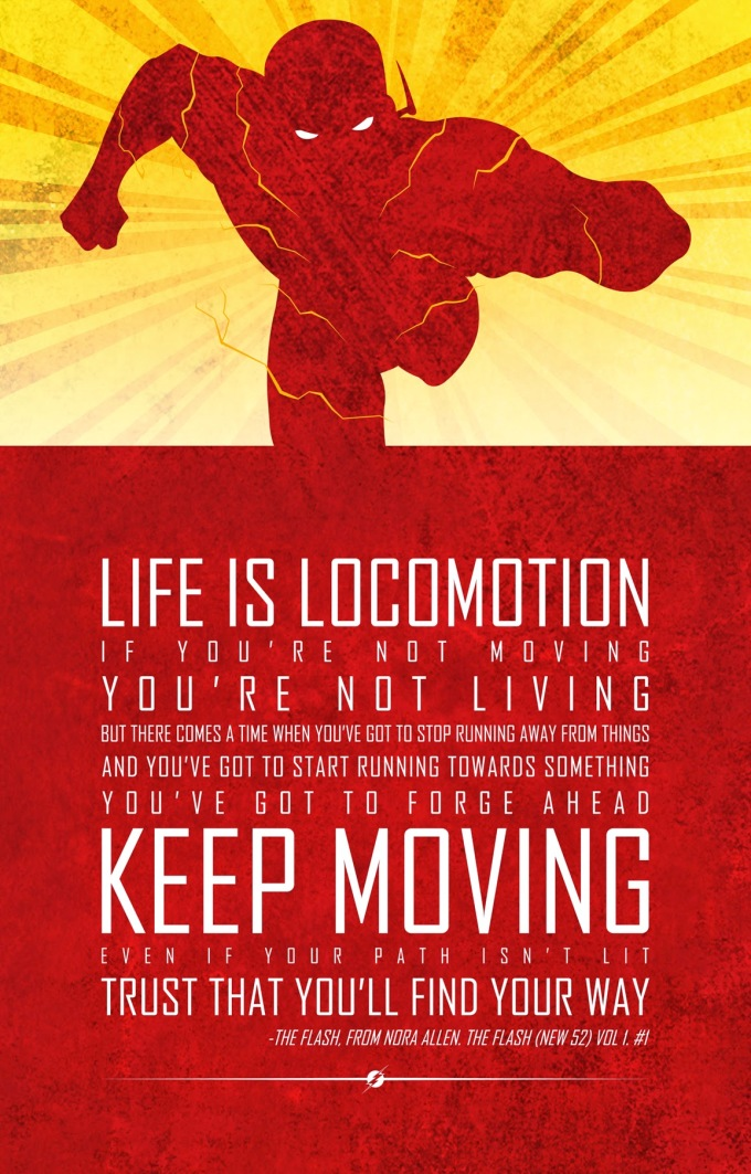 life is locomotion the flash