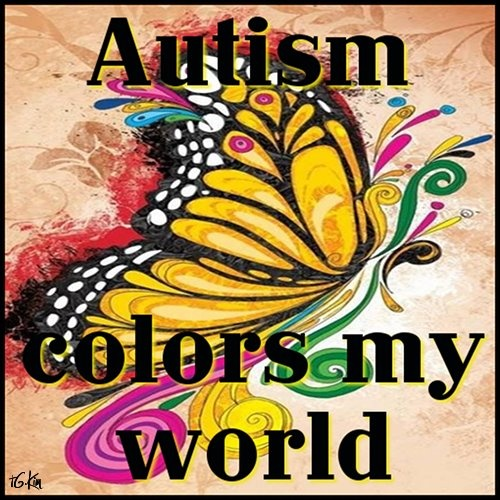 autism colors my world